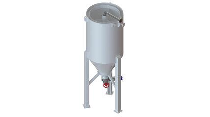upmatic Sedimentationstank TYP SDB-15-4500