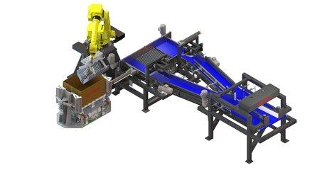 upmatic Roboter Einleger TYP 4080 F